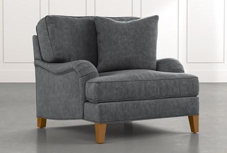 Abigail II Dark Grey Chair