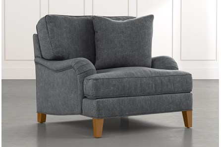 Abigail II Dark Grey Chair