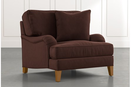 Abigail II Brown Chair