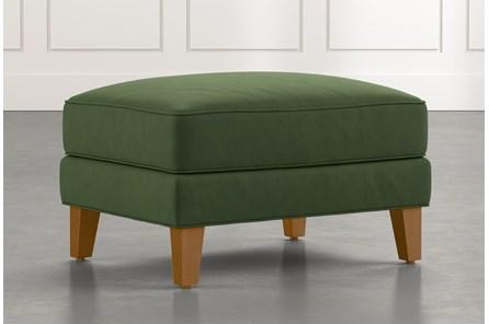Abigail II Green Ottoman