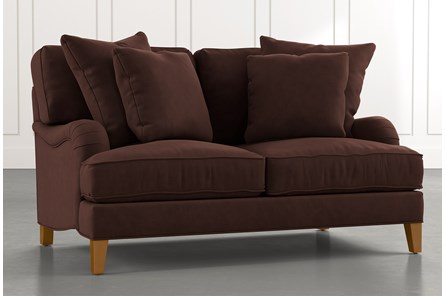Abigail II Brown Loveseat
