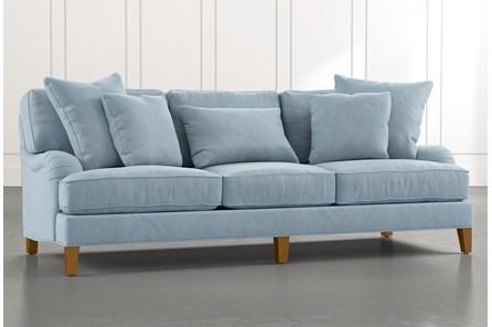 Abigail II Blue Sofa