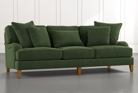 Abigail II Green Sofa