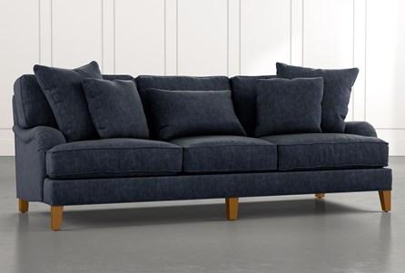 Abigail II Navy Blue Sofa