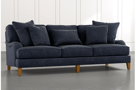 Abigail II Navy Blue Sofa