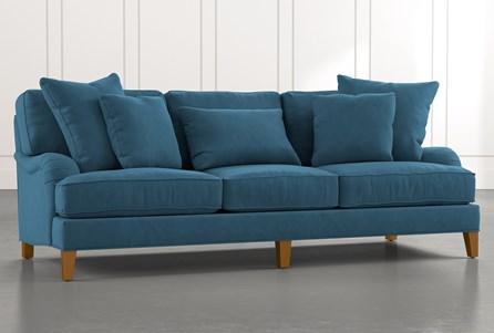 Abigail II Teal Sofa