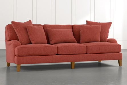 Abigail II Red Sofa