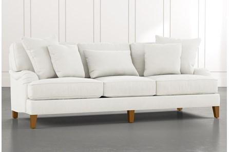 Abigail II White Sofa