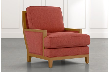 Abigail II Red Accent Chair