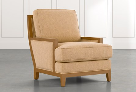 Abigail II Yellow Accent Chair