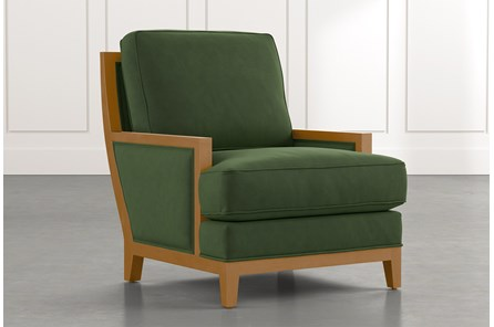 Abigail II Green Accent Chair