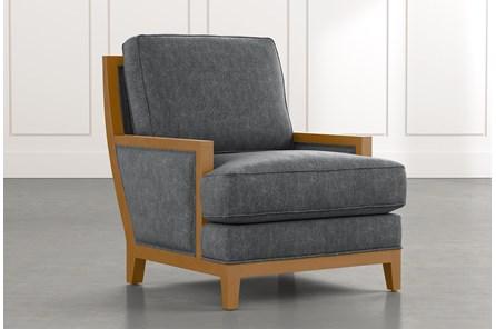 Abigail II Dark Grey Accent Chair