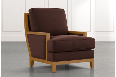 Abigail II Brown Accent Chair