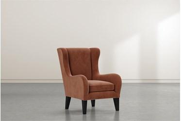 Anabelle II Cinnamon Wing Chair
