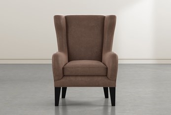 Anabelle Brown II Wing Chair