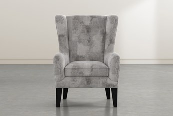 Anabelle Marble II Wing Chair