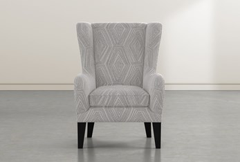 Anabelle Natural II Wing Chair