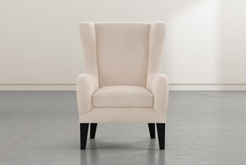 Anabelle Flax II Wing Chair