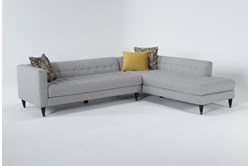 """Tate III 2 Piece 109"""" Sectional With Right Facing Armless Chaise"""