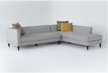 """Tate IV 2 Piece 109"""" Sectional With Right Facing Armless Chaise"""
