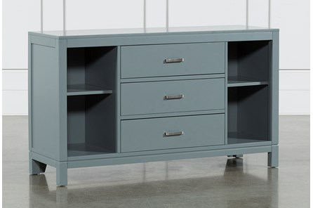 Hayden Grey 3-Drawer Dresser - Main
