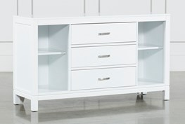 Hayden White 3-Drawer Dresser