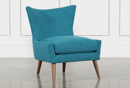 Tate II Blue Accent Chair