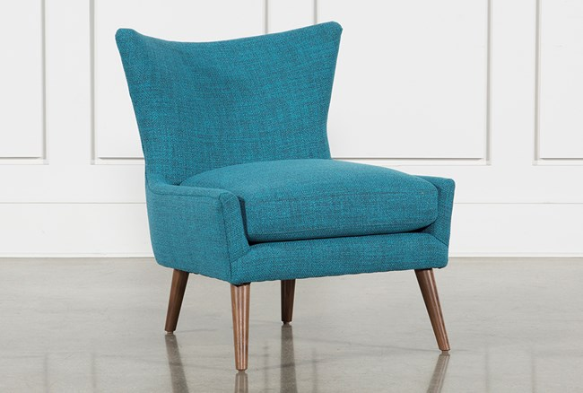 Tate II Blue Accent Chair - 360