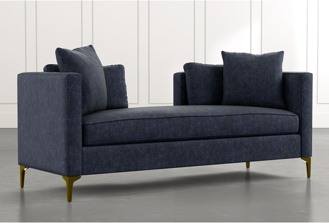Brooklyn Navy Blue Daybed - 360