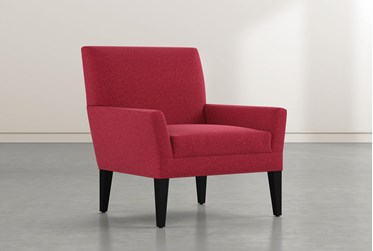 Brooke II Red Accent Chair