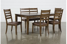Rory 6 Piece Extension Dining Set