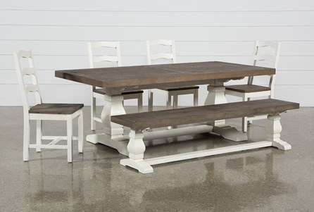 Brentwood Rectangle 6 Piece Dining Set