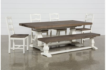 Brentwood Rectangle 6 Piece Dining Set - Main