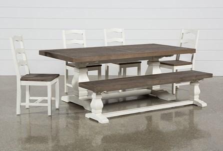 Brentwood Rectangle 6 Piece Dining Set - Main