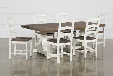 Brentwood Rectangle 7 Piece Dining Set - Main