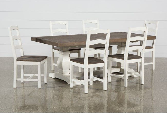 Brentwood Rectangle 7 Piece Dining Set - 360