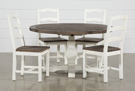 Brentwood Round 5 Piece Dining Set