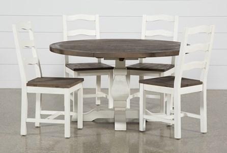 Brentwood Round 5 Piece Dining Set