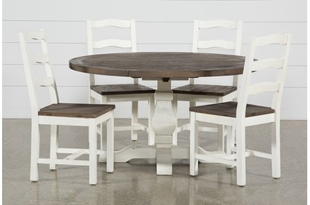 Brentwood Round 5 Piece Dining Set - Main