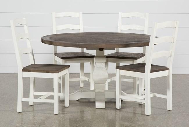 Brentwood Round 5 Piece Dining Set - 360
