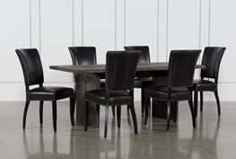 Gavin 7 Piece Dining Set With Clint Side Chairs