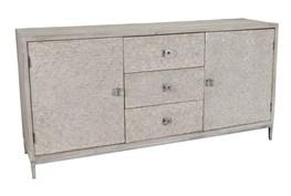 Reclaimed Pine & Iron 2 Door/3 Drawer  Grey Sideboard
