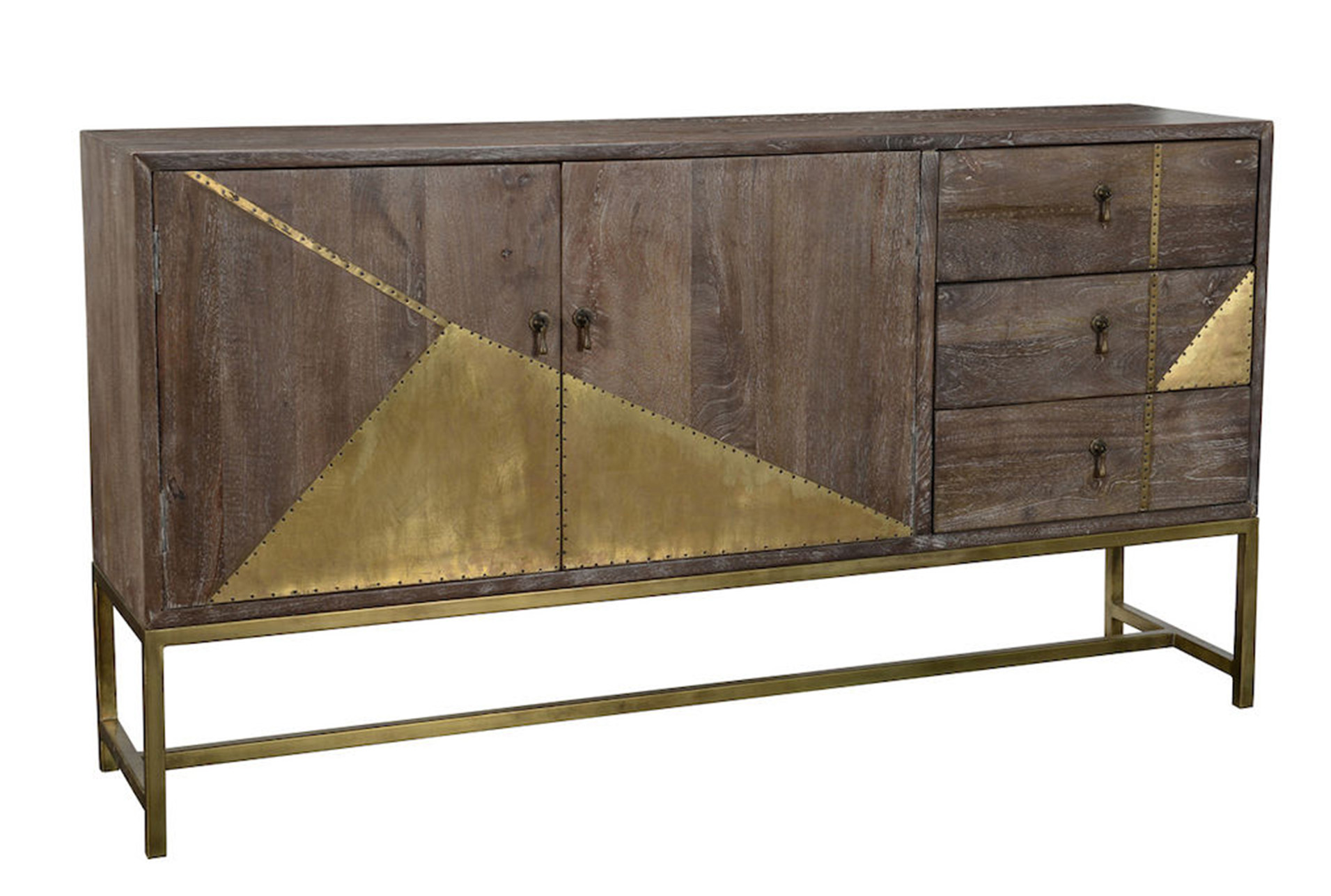 Dark Cherry Wood Credenza : Cherry buffet table wood sideboards