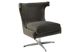 Dark Grey Swivel Chair