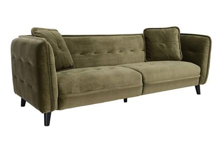 Grey Mid Century Sofa