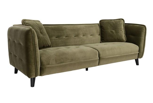 Grey Mid Century Sofa - 360