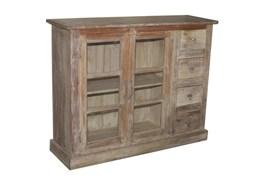 Mixed Reclaimed 4 Drawer/2 Door Cabinet