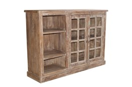 Mixed Reclaimed Cabinet With Shelves