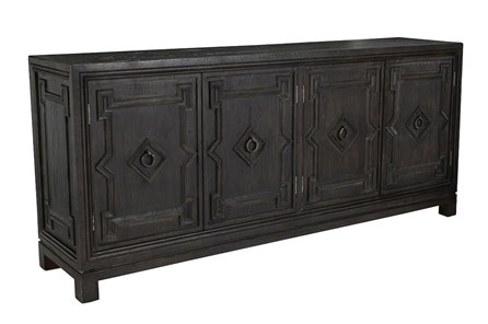 Reclaimed 4 Door Brown Sideboard