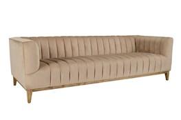 Champagne Channeled Sofa